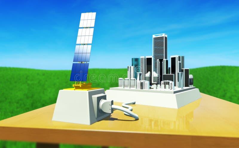 Énergie #6 de Sun illustration stock
