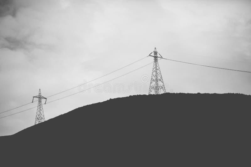 Énergie courante photographie stock