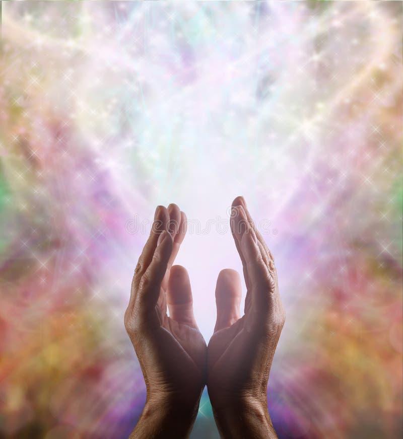 Énergie curative surnaturelle illustration stock