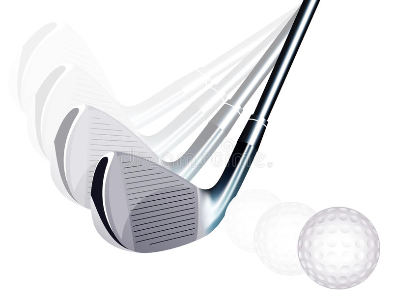 Énergie de golf illustration de vecteur