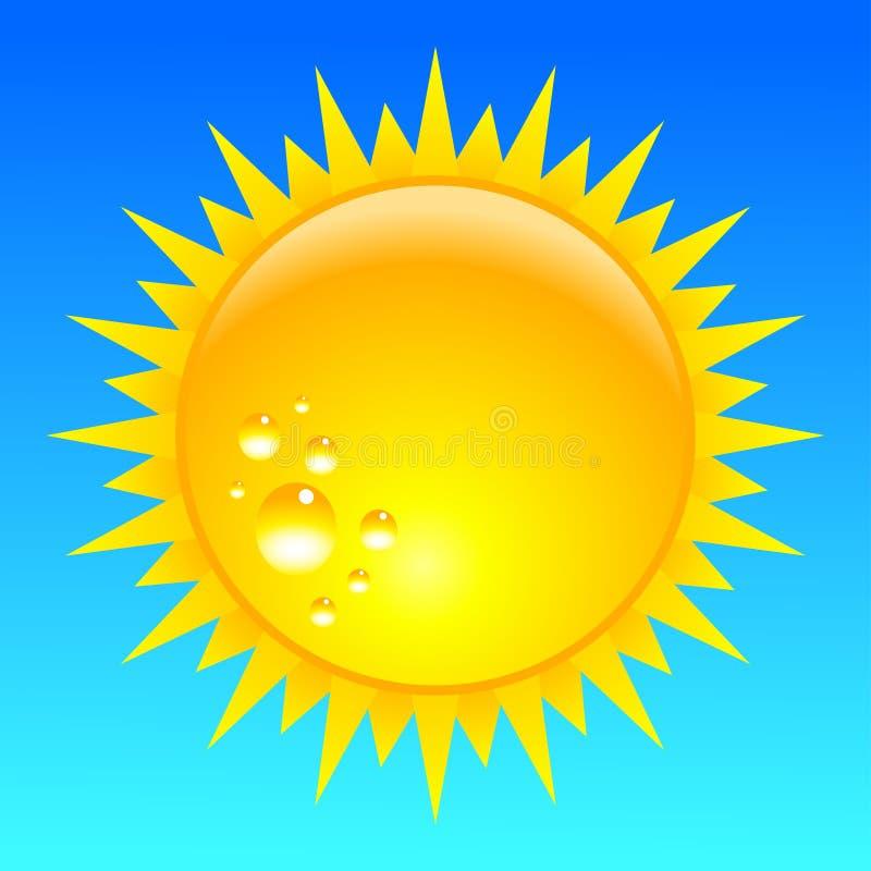 Énergie de Sun images libres de droits