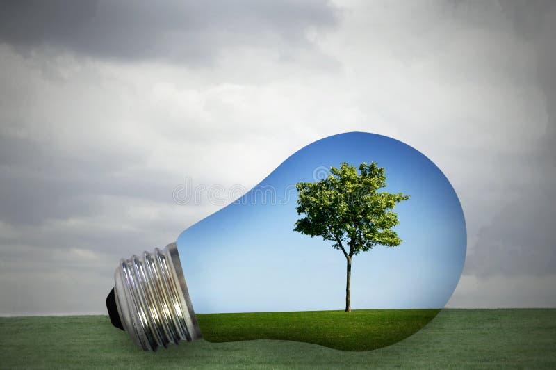 Énergie favorable à l'environnement photographie stock