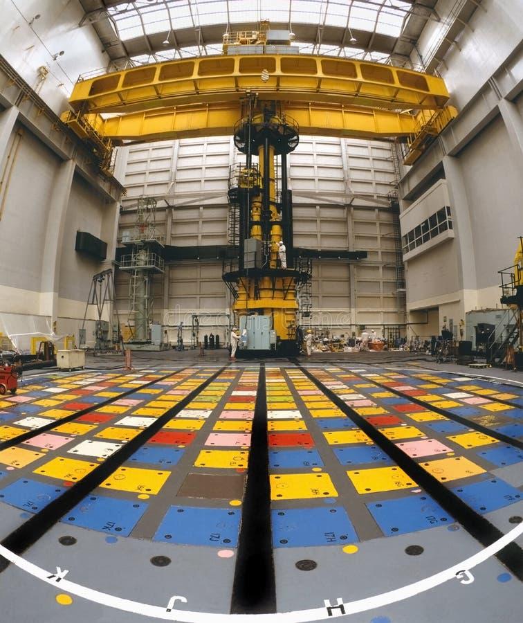 Énergie nucléaire - capuchon de pile de réacteur nucléaire photographie stock libre de droits