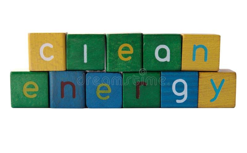 Énergie propre image libre de droits