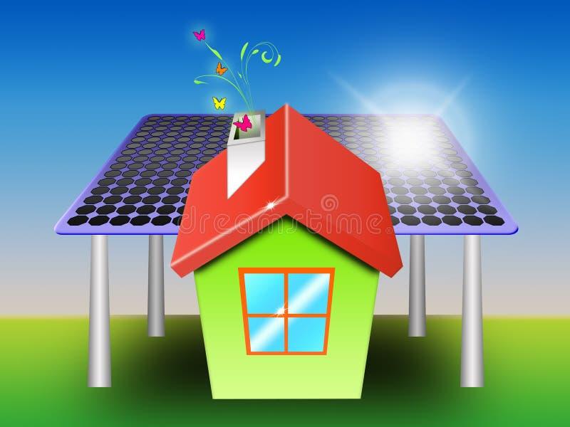 énergie propre illustration de vecteur
