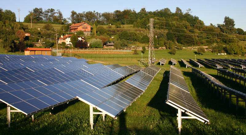 Énergie propre et soutenable photos libres de droits