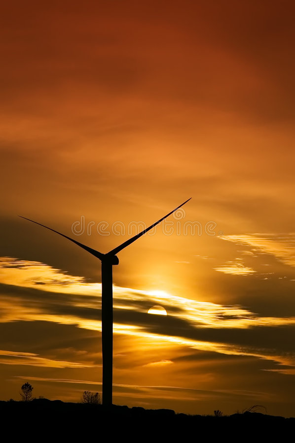 Énergie renouvelable photos libres de droits