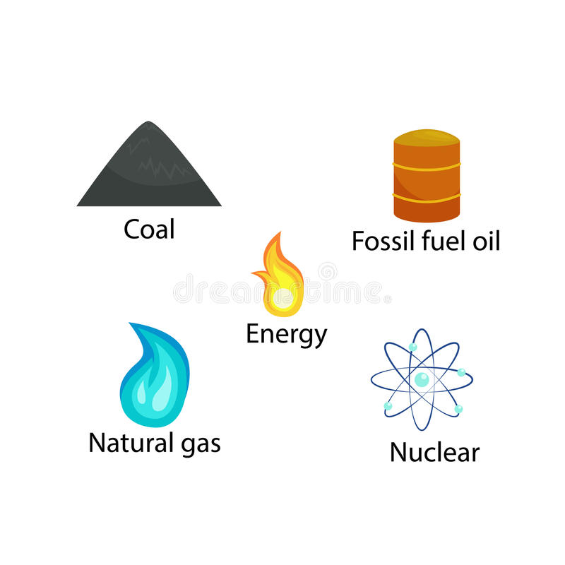 Énergie renouvelable d'écologie de modèle sans couture, concept alternatif de ressources de puissance verte de ville, économies d illustration stock