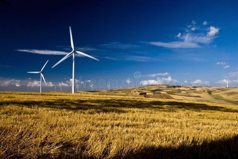 Énergie renouvelable et développement durable images libres de droits