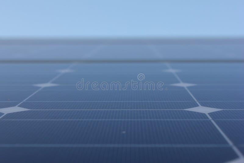 Énergie solaire, panneaux solaires, énergies renouvelables, modules de picovolte photographie stock
