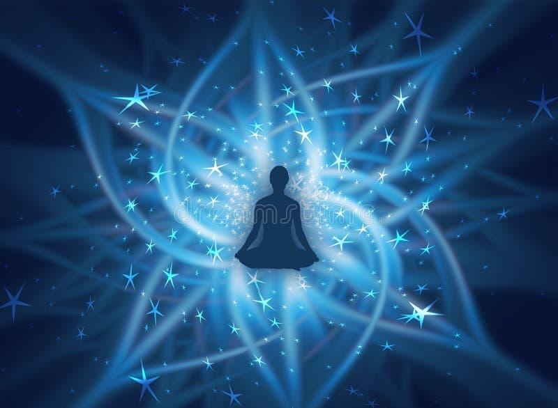 Énergie spirituelle illustration stock