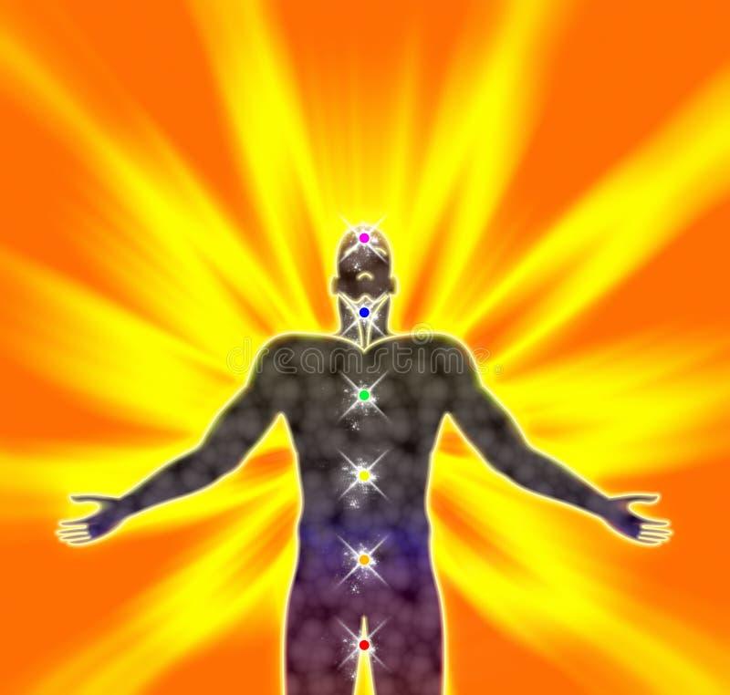 Énergie spirituelle illustration libre de droits