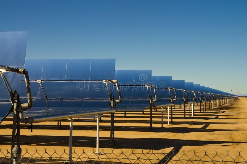 Énergie thermique solaire images libres de droits