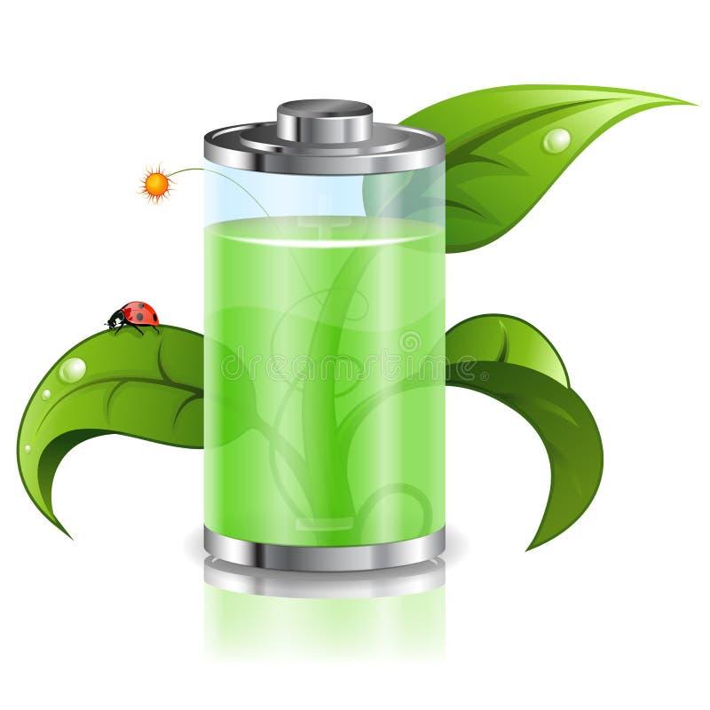 Énergie verte illustration de vecteur