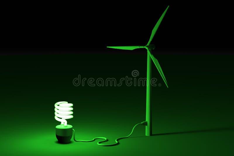 Énergie verte illustration stock