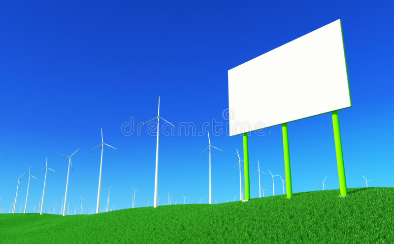 Énergie verte #6 illustration stock