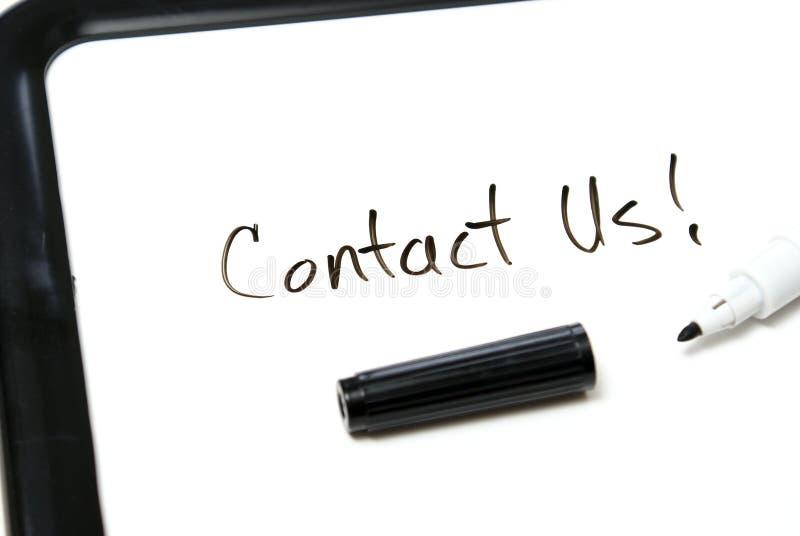 Éntrenos en contacto con foto de archivo libre de regalías