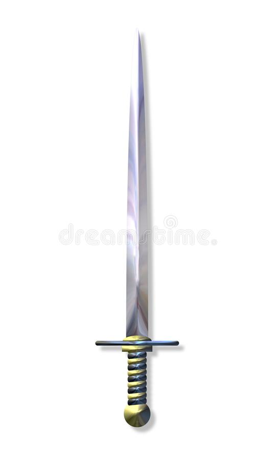 épée illustration stock