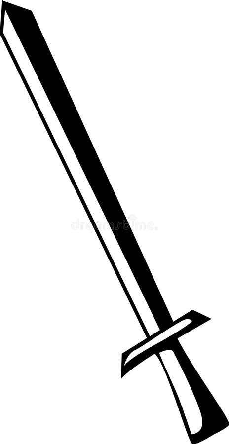 Épée illustration de vecteur