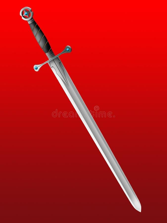 Épée image stock