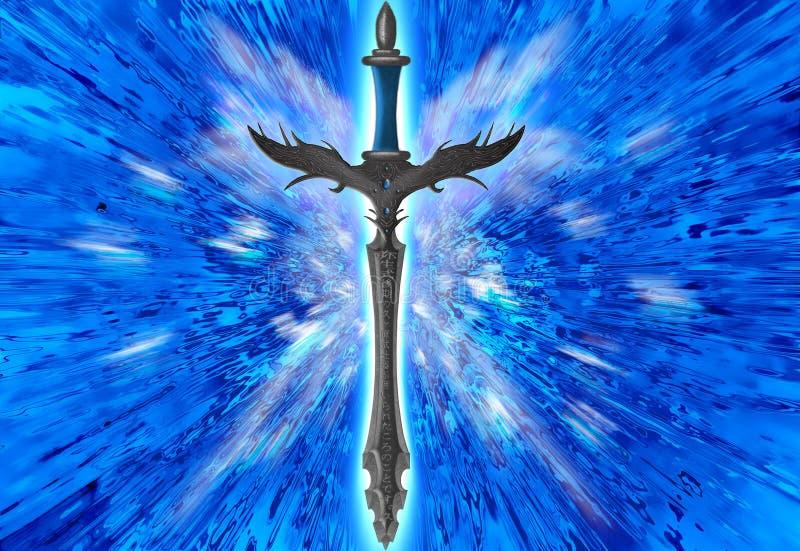 épée d'imagination photo stock