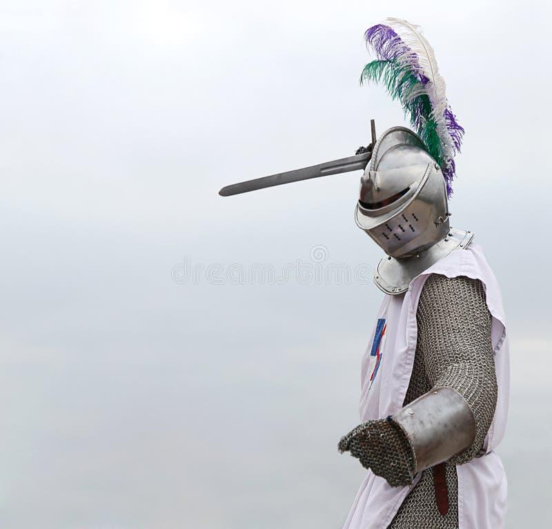 épée de chevalier images stock