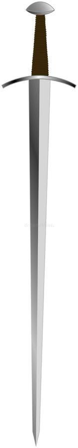 Épée De Hospitaller De Chevaliers Images stock