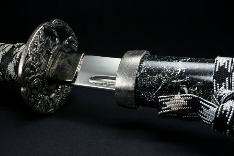 épée de samouraï images libres de droits