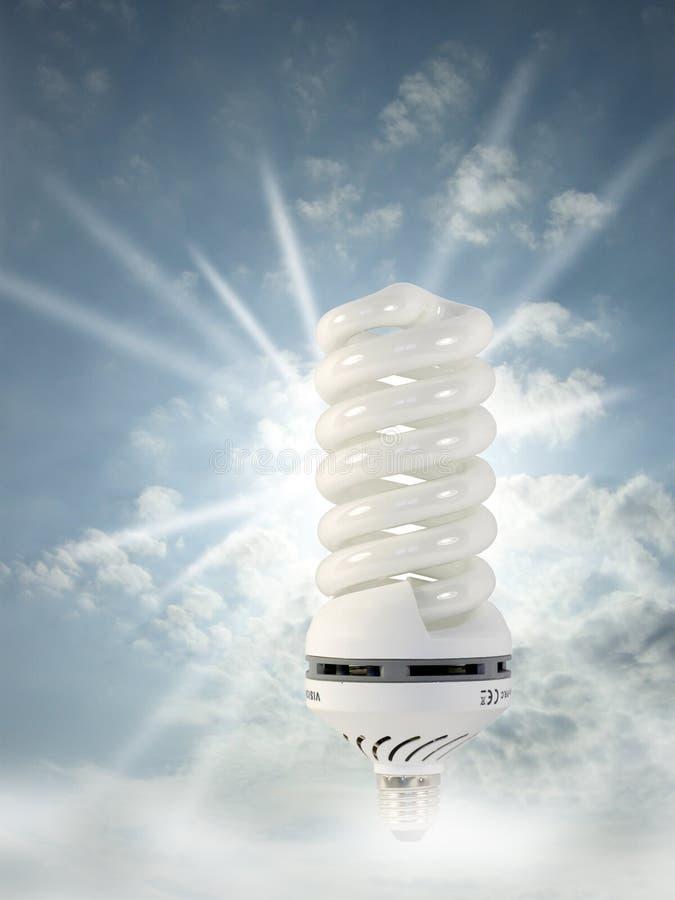 Épargnant d'énergie photo libre de droits
