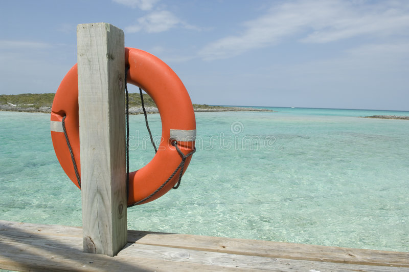 épargnant de durée des Caraïbes photographie stock
