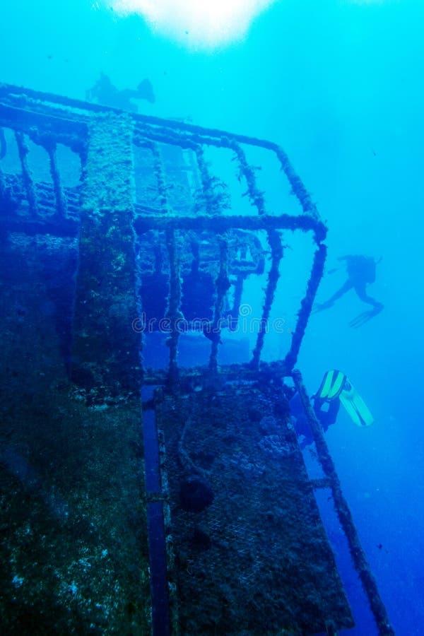 Épave de bateau de Zenobia près de Paphos, Chypre images stock