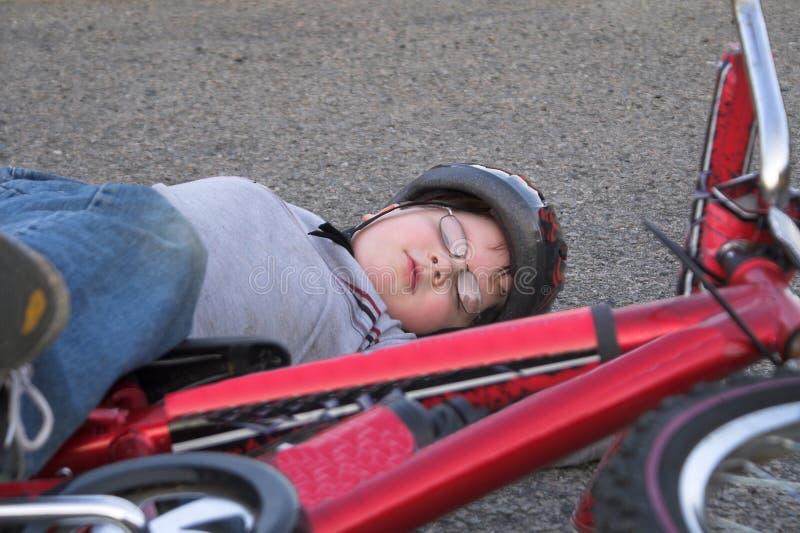 Épave de bicyclette photo libre de droits