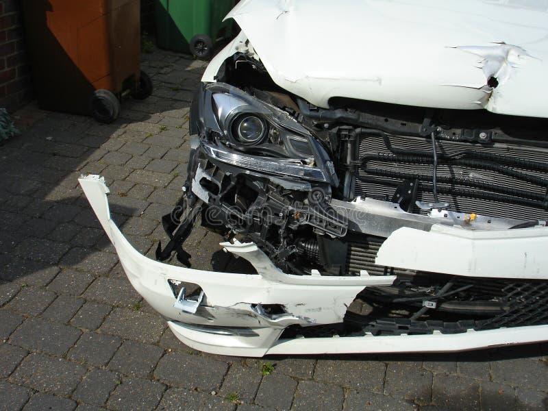 Épave de voiture photographie stock