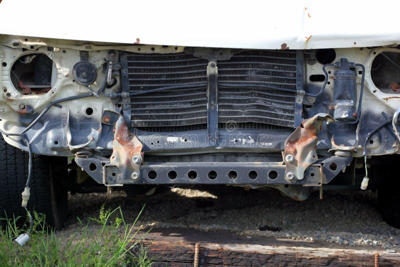 Épave de voiture image stock