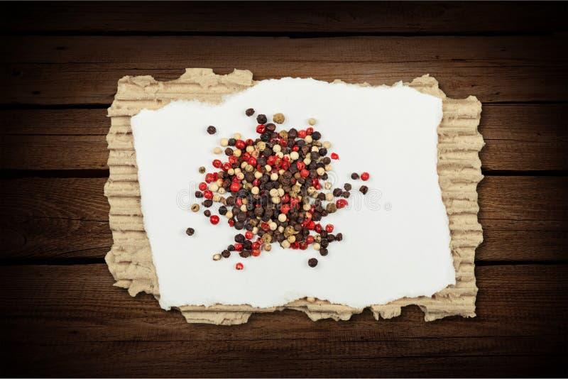 Épice de safran photographie stock libre de droits