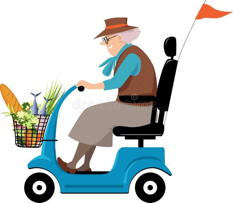 Épicerie de grand-maman illustration stock