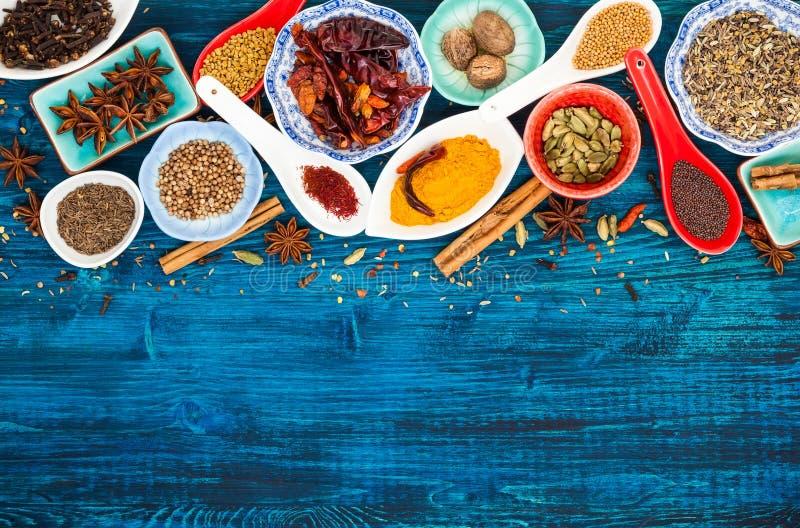 Épices asiatiques image libre de droits