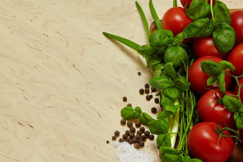 épices de tomates de légumes images stock