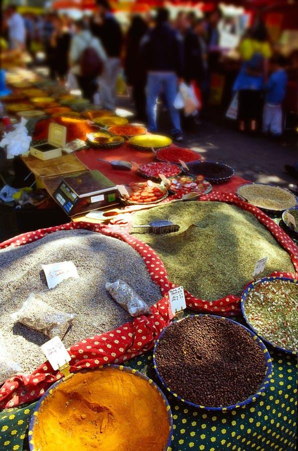 Épices en France photo libre de droits