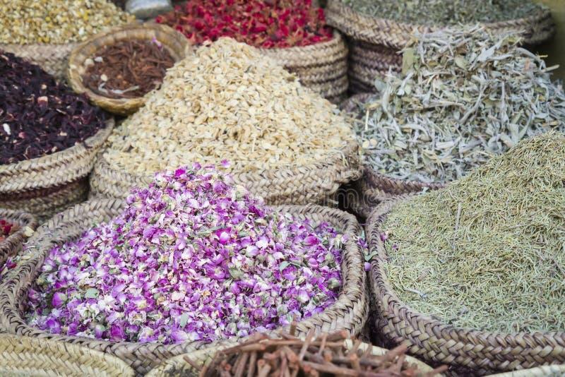 Épices marocaines photos stock