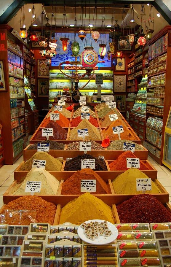 Épices orientales photographie stock