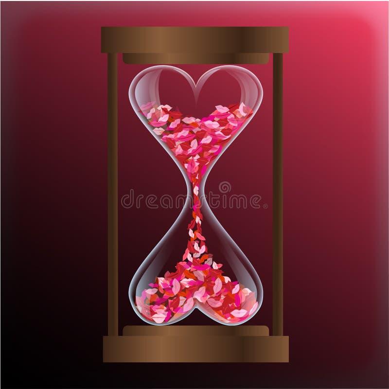época do amor ilustração royalty free