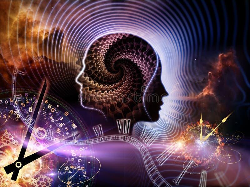 Épocas da mente humana ilustração royalty free