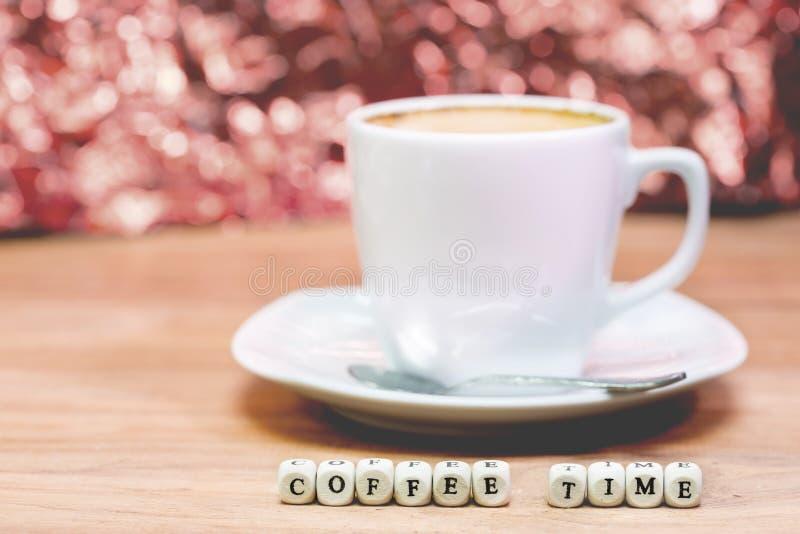 Épocas do café, ruptura de café imagens de stock