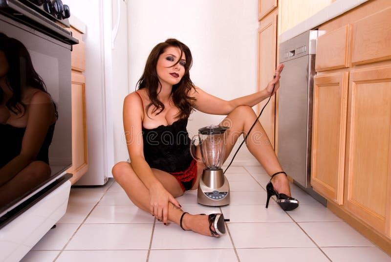 Épouse sexy de maison. image libre de droits