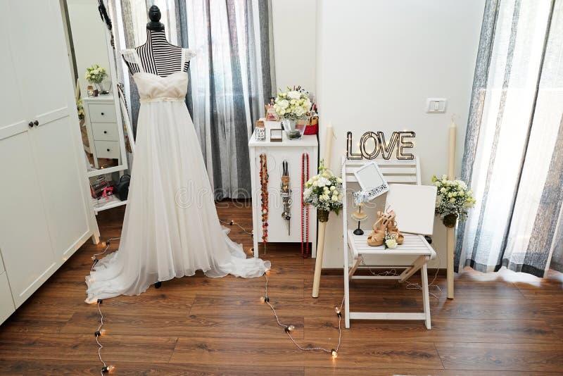 Épouser des souvenirs et des objets images stock