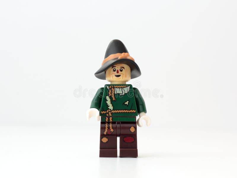 Épouvantail LEGO images stock