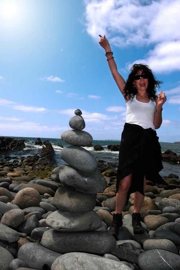 Équilibre 9 de zen images stock