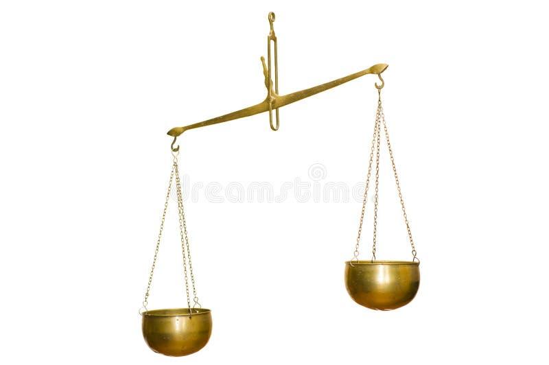 Équilibre d'or photo stock