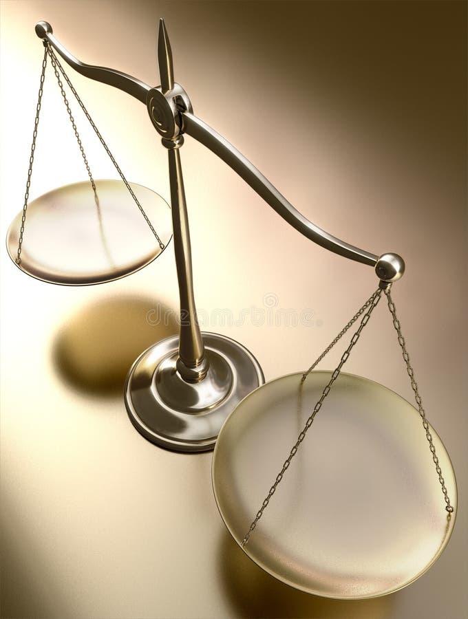 Équilibre d'or images libres de droits